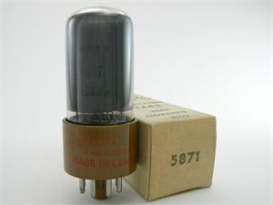 Marconi 5871 / 6V6GT - gray glass