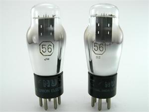 National Union 56 triode - matched pair