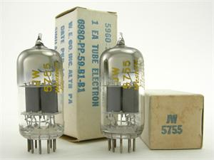 Western Electric 420A / JW 5755 - matched pair
