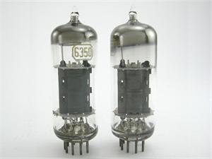 RCA 6350 - gray plates, matched pair