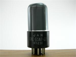 RCA 6SN7GT / VT-231 - gray glass