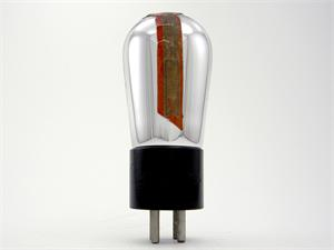 Champion 00A triode - globe bottle, engraved base
