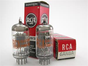 RCA 6AN8A - matched pair