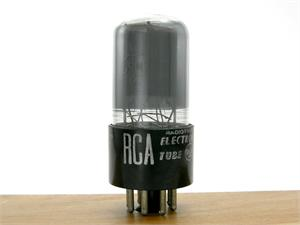 RCA 6SN7GT - gray glass