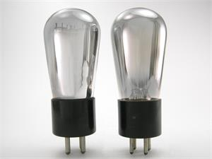 Cunningham 71A triode - globe bottle, matched pair