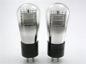 RCA 71A triode - globe bottle, matched pair