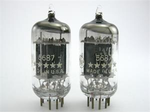 GE 5687 - matched pair