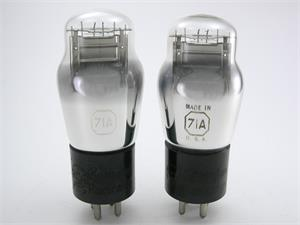 RCA 71A triode - matched pair