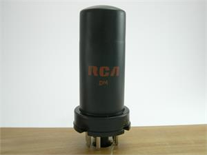 RCA 6V6 - metal bottle