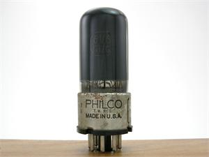 Philco 6V6GT/G - nickel collar