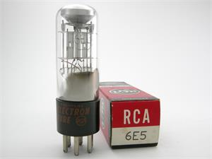 RCA 6E5 - magic eye tube