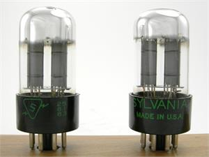 Sylvania 6SN7GTA - matched pair