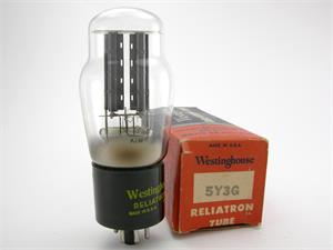 Westinghouse 5Y3G - ST bottle