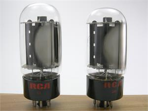 RCA 6L6GC - matched pair