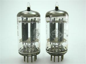 Telefunken 12AX7 / ECC83 - smooth plates, matched pair