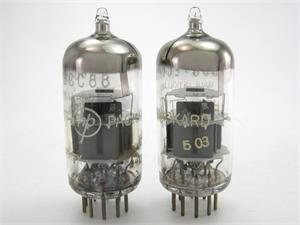 Amperex 6DJ8 / ECC88 - matched pair