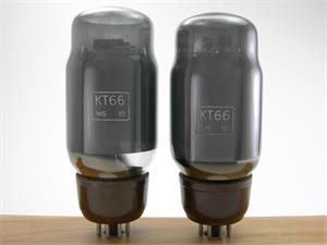 Genalex KT66 - gray glass, matched pair
