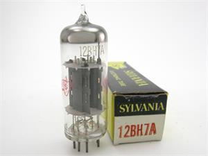 Sylvania 12BH7A - early gray plates