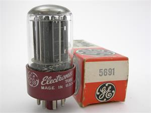 RCA 5691 - red base, GE label