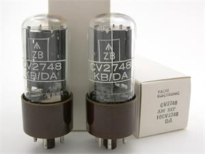 Mullard CV2748 / GZ30 / 5Z4 - matched pair