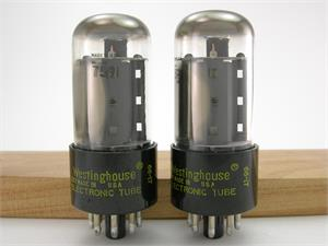 Westinghouse 7591A - matched pair