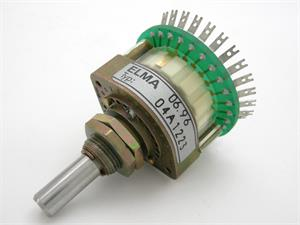 Elma 2 Pole Rotary Switch, 2-12 Adj. Position
